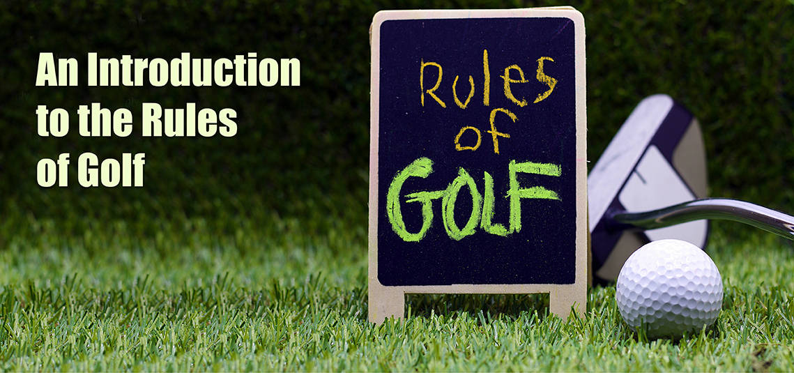 Introduction rules of golf