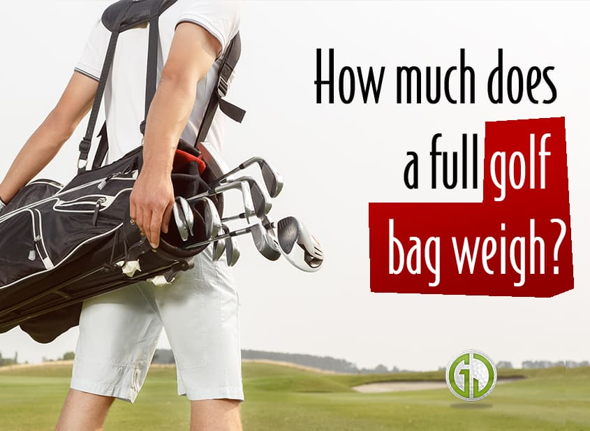 Golf Bag Weight title